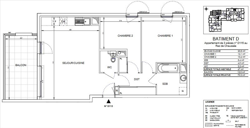 Image_2, Appartement, Ollioules, ref :00256